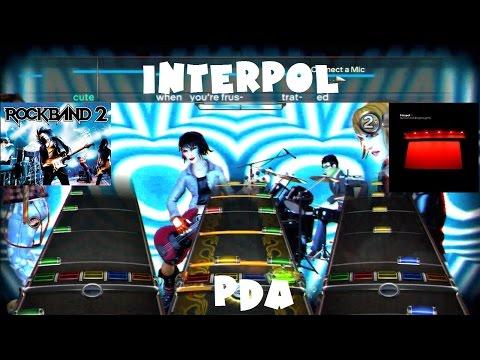 Interpol - PDA - Rock Band 2 Expert Full Band