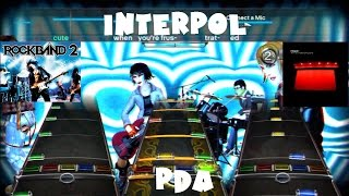 Interpol - PDA - Rock Band 2 Expert Full Band