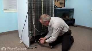Refrigerator Repair - Replacing the Compressor Start Relay (Frigidaire Part # 216008900)
