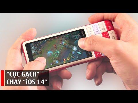 """Đánh giá Infobar C01: """"cục gạch"""" chạy """"iOS 14"""""""