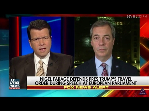 Nigel Farage: The European Union is Terrified of Donald J Trump