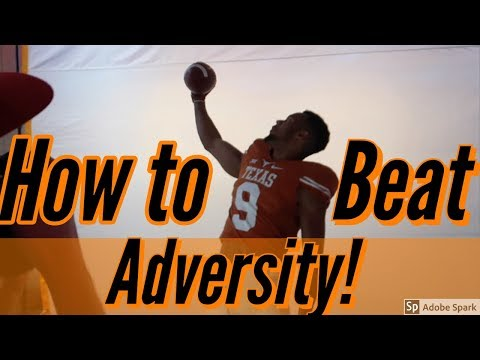Texas WR Collin Johnson: Overcoming Adversity!