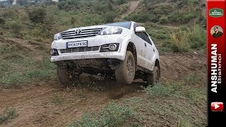 Fortuner, Pajero Sport, Isuzu V-Cross: Monsoon Offroading July 2018