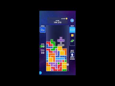 Possibly Highest Score EA Tetris Game On The Internet - 3265370 Points