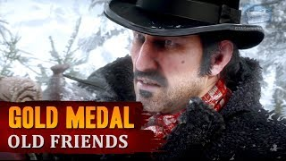 Red Dead Redemption 2 - Mission #3 - Old Friends [Gold Medal]