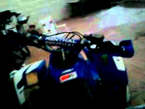 yamaha blaster with monster energy stickers