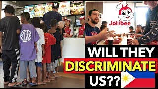 "Bringing Filipino Kids (POOR SCAVENGERS) inside JOLLIBEE 🇵🇭 Their ""FIRST TIME"" Reaction"