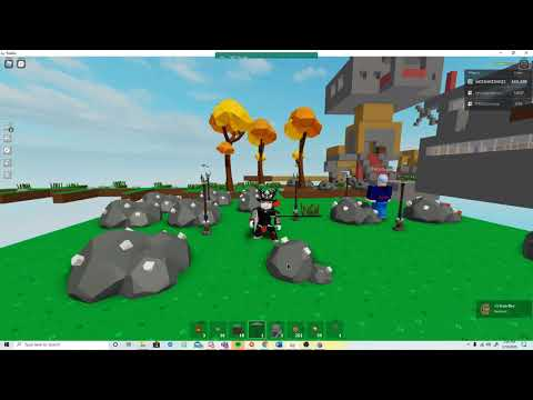 How To Get Crystalized Iron Super Fast Skyblox Roblox Youtube
