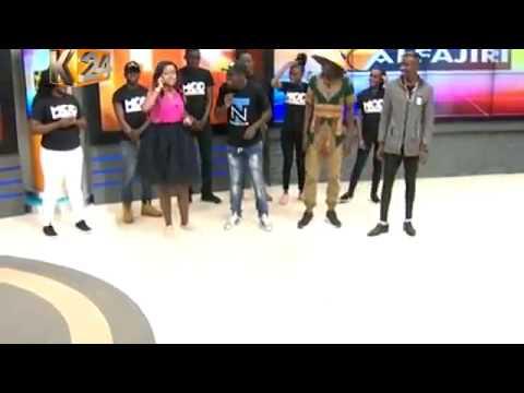 ODI DANCE LIVE on K24 ALFAJIRI with Amina and Dj Joe Mfalme