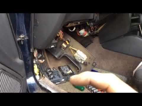 1998 Subaru Impreza Wiring Diagram Subaru Legacy Outback Fuel Pump Relay Youtube