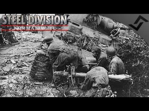 Fallschirmjäger Factory Destruction 2v2 - Steel Division: Normandy 44 - Beta Gameplay