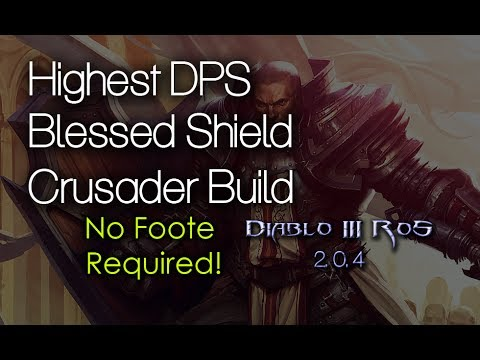 Diablo  Crusader Blessed Shield Build