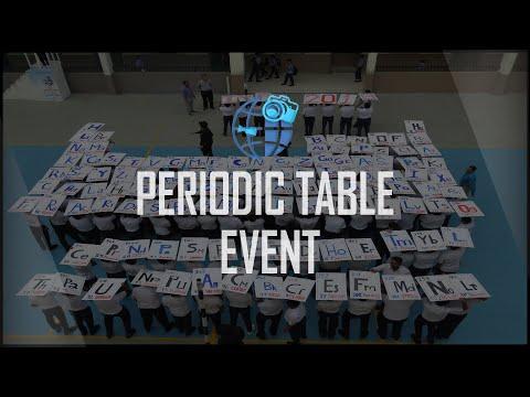 Periodic Table Event   IX - X B.S   IISJ REPORTERS