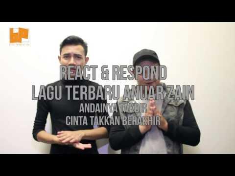 REACT&RESPOND : 2 lagu baru anuar zain