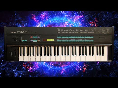 Why I bought a 1980s Yamaha DX7 in 2018 - Logic Pro X