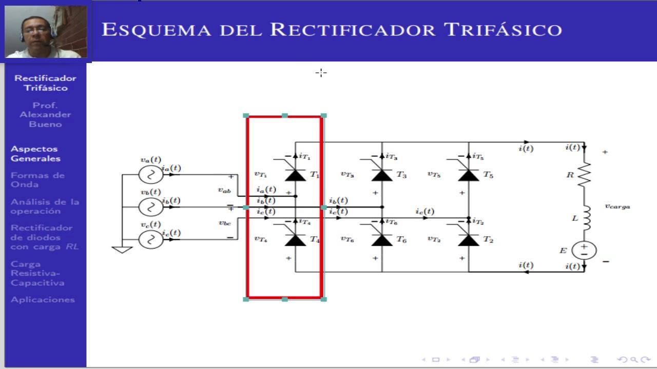 Rectificador Trifásico: Tema 1