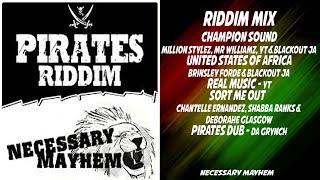 Pirates Anthem Riddim Mix 2017 🔥 (Million Stylez, Shabba Ranks, Brinsley Forde)