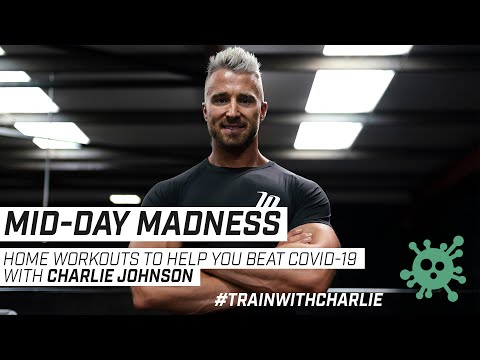 Full Body Workout | DAY 1 of Lockdown | Mid-Day Madness Daily Live Workout