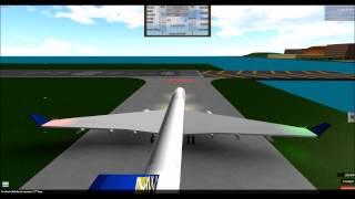 Falha do motor | Plane Crash Movie (Roblox)