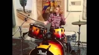 Kid's New Drum Kit