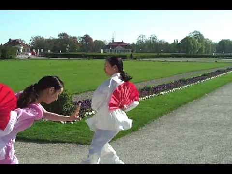 Kung Fu Fächer 太极扇 von Xiaoling Röbbig-Reyes/Guo