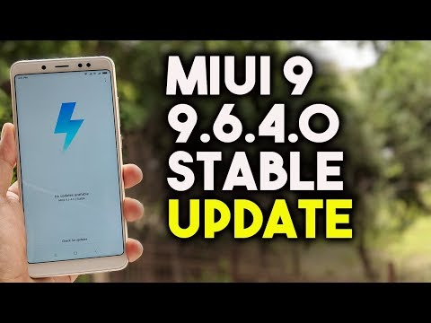 MIUI 9.6.4.0 Stable UPDATE for Redmi Note 5 Pro - DOWNLOAD NOW