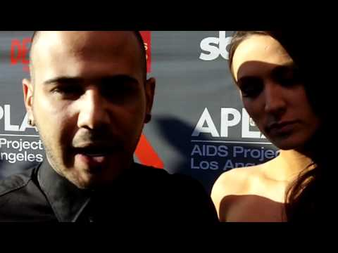 Danny Fernandes and Angel Carter 'come out' as a couple at APLA event