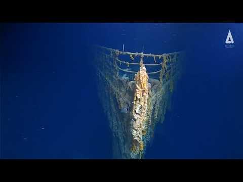 أول صور واضحة لحطام تيتانك.. السفينة متحللة في أعماق البحار  - 11:55-2019 / 8 / 23