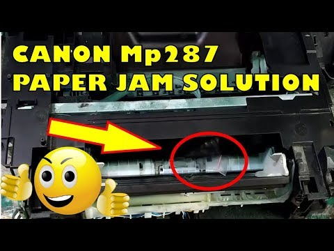 Bongkar Printer Canon Mp287 Servis Error Paper Jam Kertas Nyangkut
