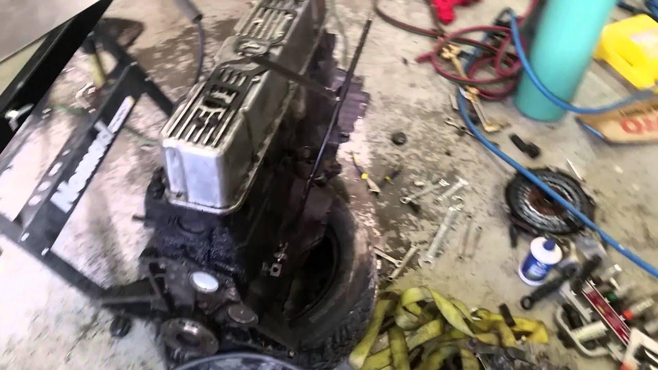 Motor Swap In My 84 Cj7 Youtube Engine Wiring