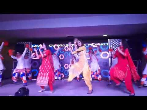 Punjabi Arkestra Wedding Dance 2017 From Punjab India Ksarkestra