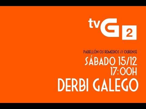 VÍDEO PROMO // OURENSE ENVIALIA FSF - BURELA PESCADOS RUBÉN FSF // 15/12 - 17:00H // TVG2