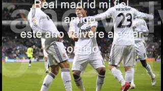 Real Madrid Mi Buen Amigo with lyrics