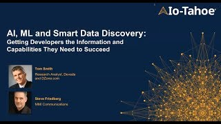 What Developers Need to Know About AI, ML and Smart Data Discovery