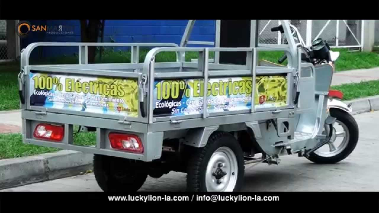 Lucky Lion Moto Carro Electrico Youtube
