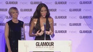 Glamour Awards 2017: Winnie Harlow's heartbreaking speech