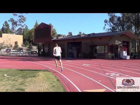 Santa Barbara Track Club - Winter Time Trials: 800m & 600m