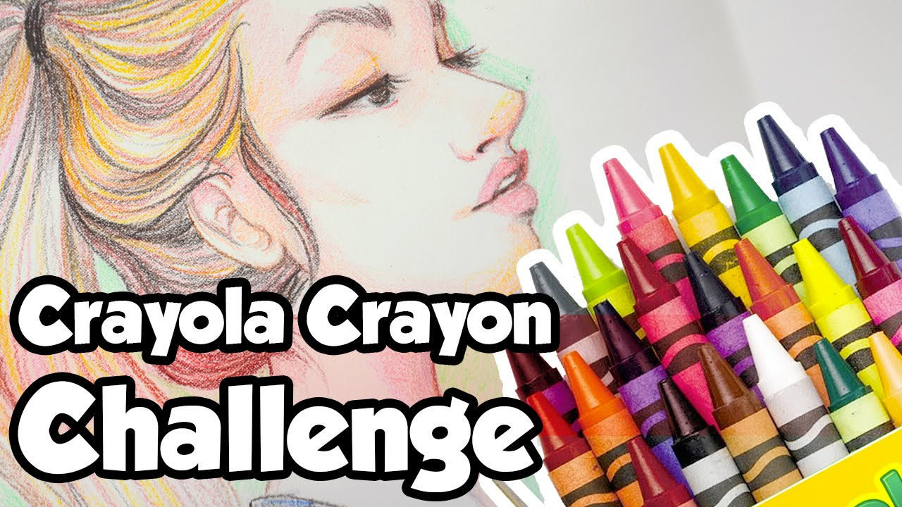 Cheap art supplies challenge crayola crayons youtube for Craft supplies online cheap
