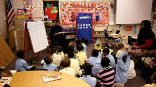 Councilwoman Bass Reads to Students at A.B. Day School