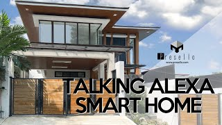House Tour 85   Talking Alexa Smart Home   Outstanding House and lot for sale in Quezon City