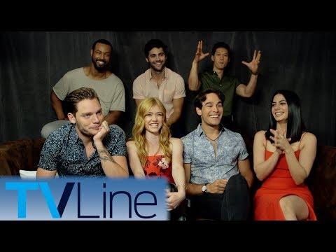 Shadowhunters Interview   Comic-Con 2017   TVLine
