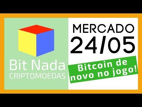 Mercado de Cripto! 24/05 Bitcoin de novo no jogo! 8k USD / Kraken / Telegram (TON)