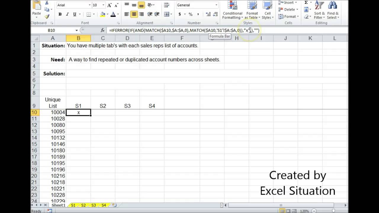 Worksheets Vlookup Multiple Sheets Excel 2003 excel finding duplicates across sheets youtube sheets