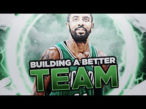 STARTING 5 OF 90'S!? BUILDING A BETTER TEAM! NBA 2K18
