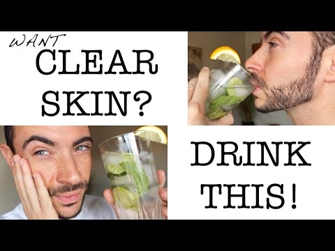 DRINK AWAY ACNE | DIY Clear Skin Detox | Cheap Tip #243