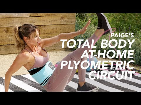 Paige Hathaway's Total Body At-Home Plyometric Circuit Workout
