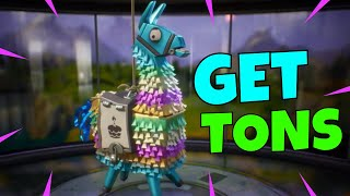 BIRTHDAY LLAMAS! | How to Get TONS of Birthday Llamas By Farming TICKETS! | Fortnite Save The World