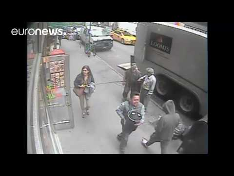 Thief caught on camera stealing bucket of gold