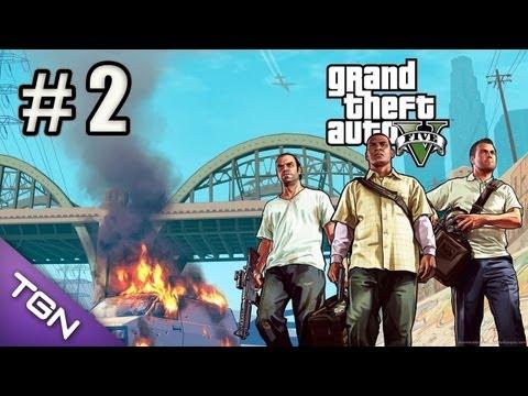 GTA 5 Gameplay en Español - Capitulo 2 - HD 720p