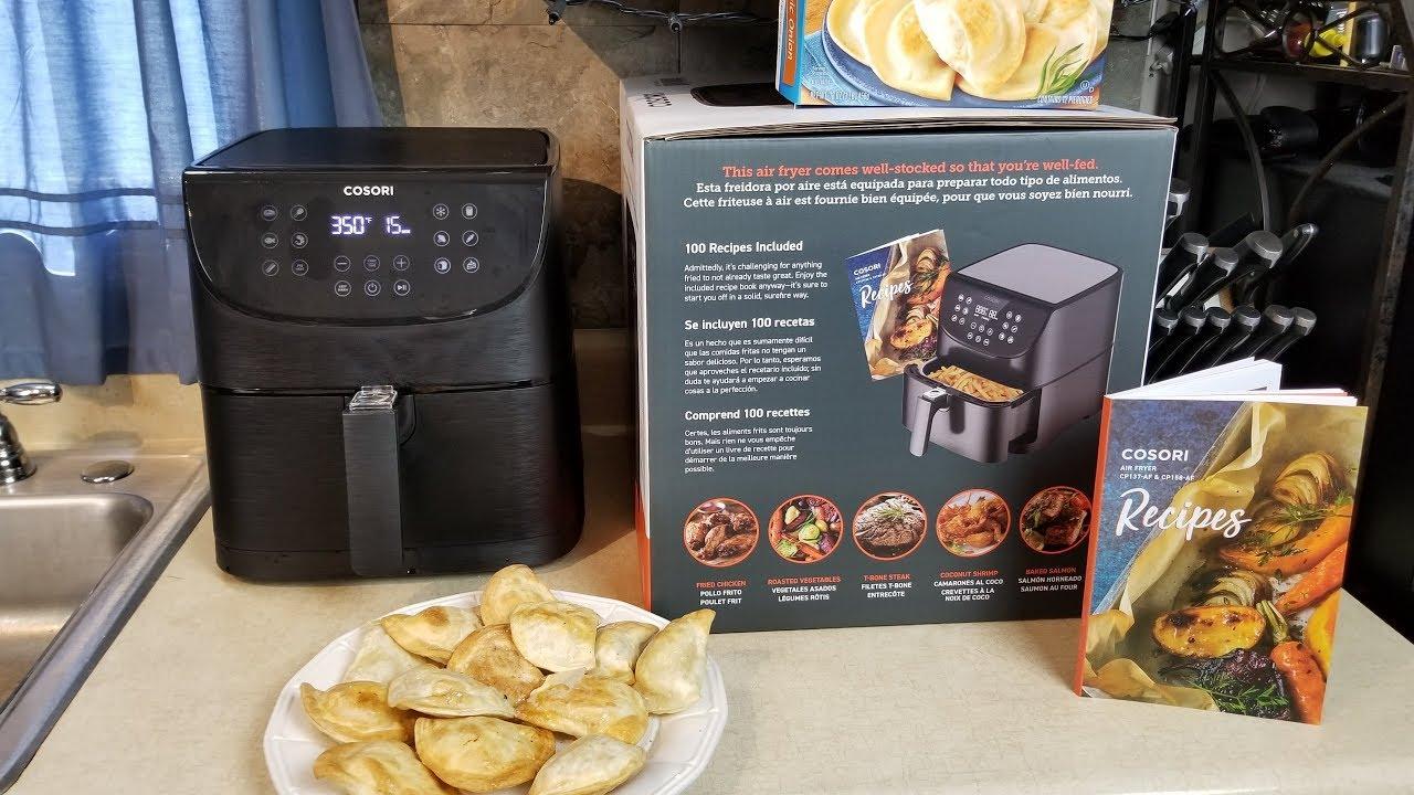 New Premium Cosori XL Air Fryer Making Pierogies - YouTube